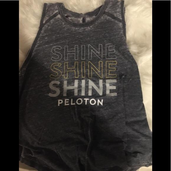 Shine Peloton tank